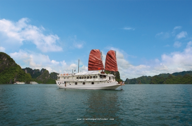 Halong Chartered Boat-  2Cabin Boats