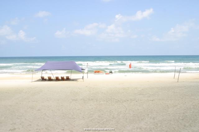 Danang Beach - Danang City at Central parts of Vietnam