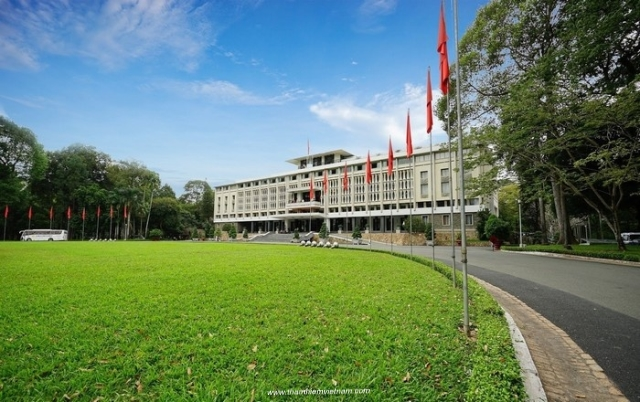Dinh thong nhat- Unification Palace- HCM city (or Saigon) or Hochiminh city