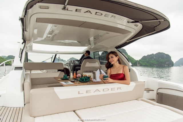 Halong Luxury Yacht - Daily charter cruise Halong bay