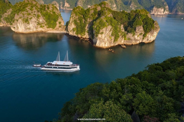 Jade Sail Halong Bay- Daily Cruise with 6-8 Hours