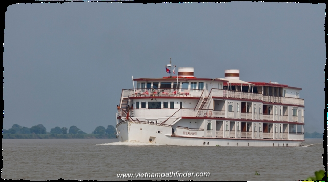 The Jahan, a most romantic cruise liner in Mekong river
