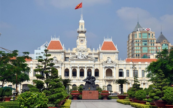 - HCM city (or Saigon) or Hochiminh city