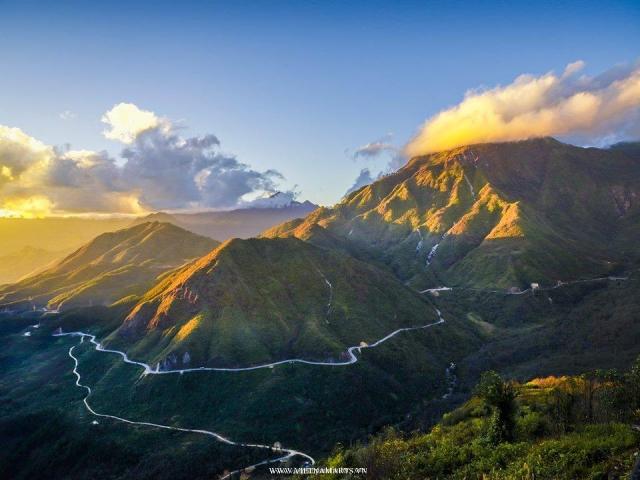 O Quy Ho Pass- Sapa Mountains
