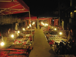 Night Market - Laos