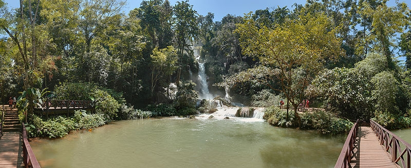 The Kuang Si Falls - Laos